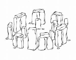 Image Gallery stonehenge drawing