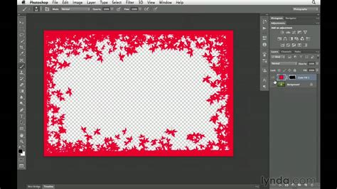 photoshop cs tutorial   create custom borders