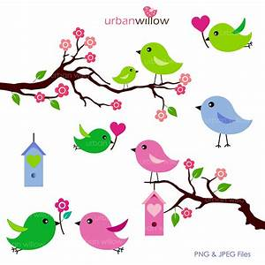 Cute clipart love bird - Pencil and in color cute clipart ...