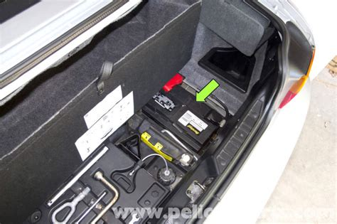 bmw  battery replacement  connection notes