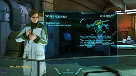 xcom enemy unknown tech preview character vahlen dr nag player pc research bit skies interview screen hands demonstrates officers directly