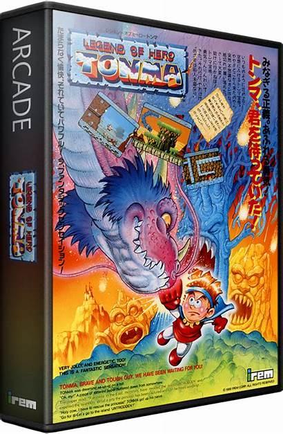 Legend Hero Tonma Games Launchbox