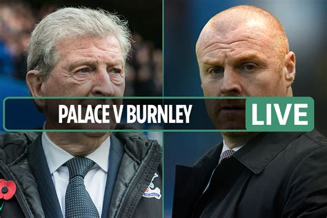 Crystal Palace vs Burnley LIVE: Stream FREE, TV channel ...
