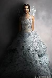 katniss everdeen catching fire by kim beurre lait on With katniss everdeen wedding dress
