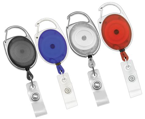 carabiner retractable id badge holder  shipping ebay