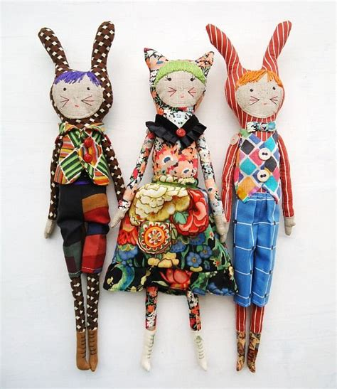 breathe fabric dolls doll crafts sewing toys