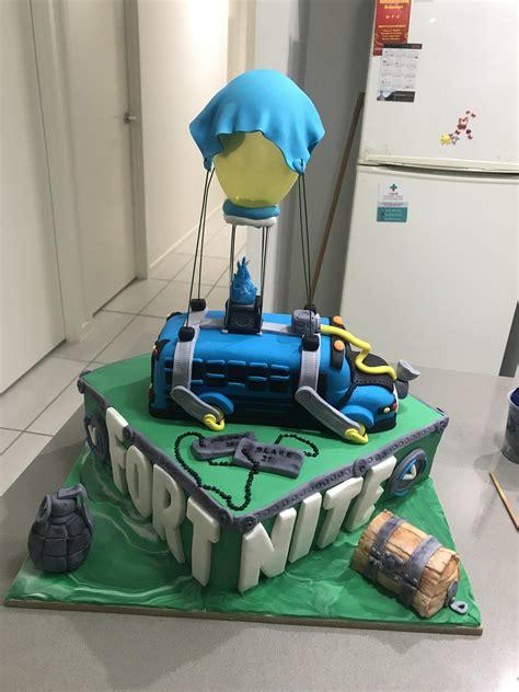fortnite birthday cake fortnitebattleroyale