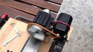 Taig Lathe With Sewing Machine Motor