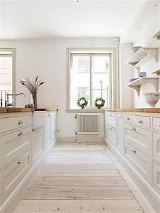Cuisine Bois Et Blanc : id e relooking cuisine cuisine bois et blanc plateaux ~ Dailycaller-alerts.com Idées de Décoration