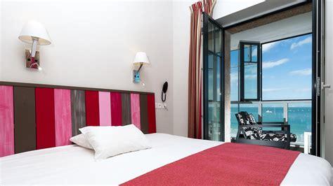 chambres d h es 精e en mer chambre mer supérieure chambre 3 étoiles perros guirec chambre hotel bord de mer en bretagne hotel ker mor