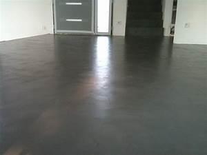 Crédence Béton Ciré : beton cire pour credence cuisine 9 rev234tement b233ton ~ Premium-room.com Idées de Décoration