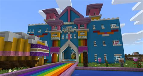 world  color creation minigame minecraft pe maps