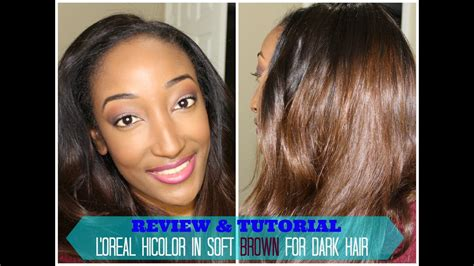 L'oreal Hicolor Soft Brown Tutorial And Review