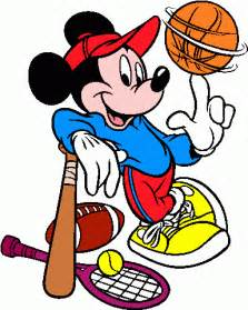 Disney Sports Clip Art