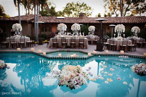 pool decorations  wedding