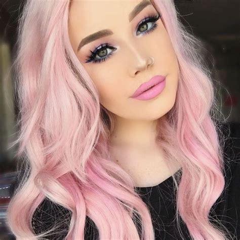 pastell rosa haarfarbe 1001 ideen f 252 r rosa haare die besten bilder aus dem haare pastellrosa haare