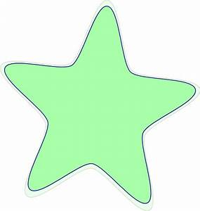 Bright Green Star Clip Art at Clker.com - vector clip art ...