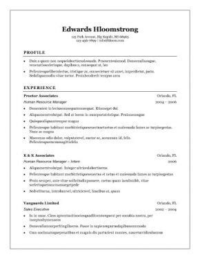 best resume format for sales professionals organizations top 10 best resume templates ever free for microsoft word