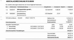 Kumulative Rechnung : thema kumulierte abschlagsrechnung ~ Themetempest.com Abrechnung
