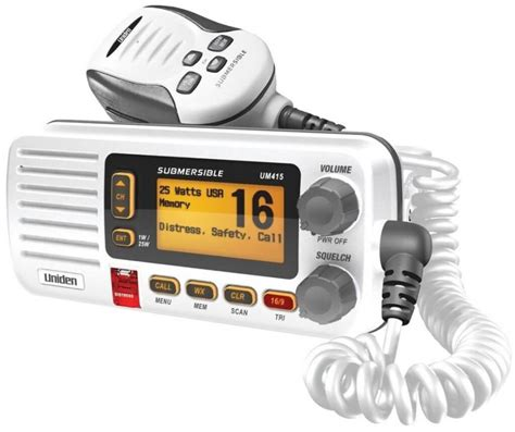 Boat Marine Radio Channel by Uniden Um415 Fixed Mount Vhf Marine Radio Review