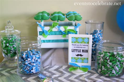 Little Man Mustache Baby Shower-events To Celebrate