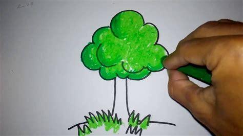mewarnai gambar pohon cabai