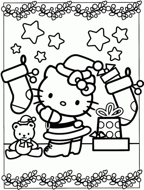 kitty coloring pages  coloring home