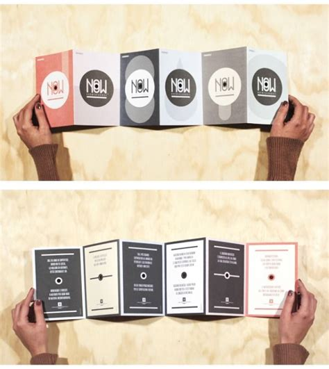 Accordion Style Brochure What If The Menu Was An Accordion Style Fold With Some