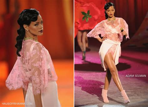 Fashion Credits: Rihanna at the Victoria's Secret Fashion