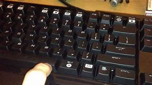 Fix For Razer Blackwidow Ultimate Spacebar Key Jammed Or
