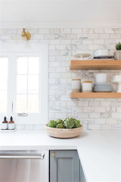 subway backsplash tiles kitchen best white tile backsplash ideas on white subway marble
