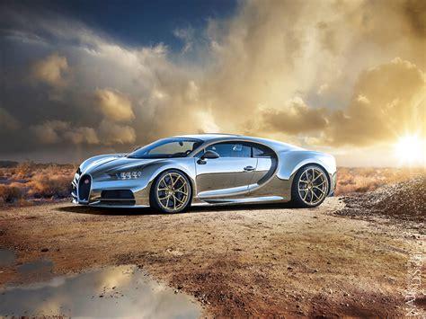 Chrome Chiron   Original taken by Bugatti Automobiles S.A ...
