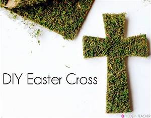 DIY Easter Cross - The Crafting Chicks