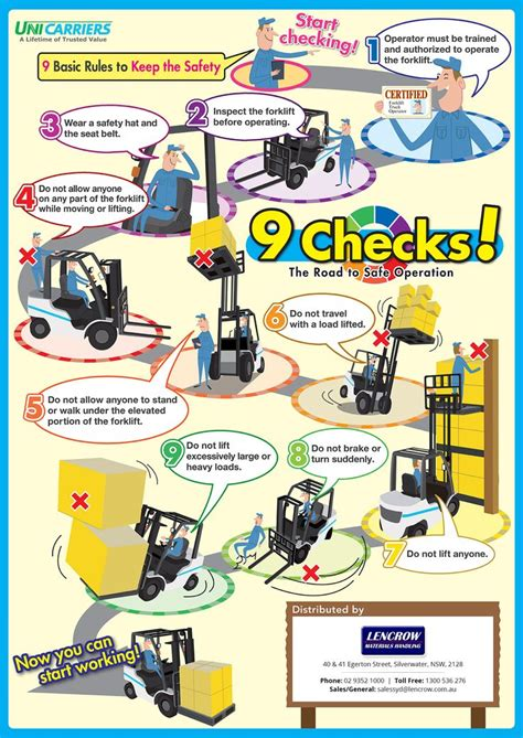 forklift safety tips  basic rules    safety health  safety poster safety tips