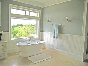 Is the wainscoting wood or a special water and mold for Water resistant wainscoting for bathroom