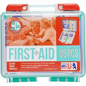 Be Smart Get Prepared First Aid Kit  85 Count