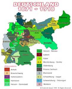 Germany Before World War 1 Map