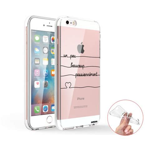 Coque Integrale Iphone Se Coque Iphone Se 5s 5 360 Int 233 Grale Transparente Un Peu Beaucoup Passionnement Evetane