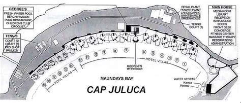 resort map floor plans cap juluca anguilla british west indies