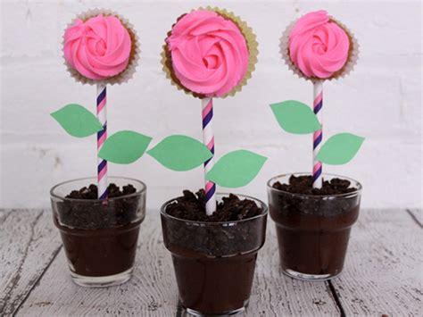 diy flower pot dirt cake recipe