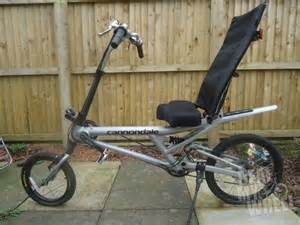 Cannondale Recumbent Bike for Sale