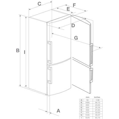 Cabinet Depth Refrigerator Dimensions by Brfb1042whn Blomberg 10 6 Cu Ft Counter Depth Refrigerator