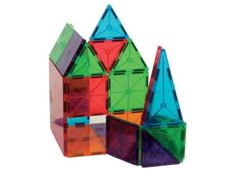 Magna Tiles Clear Colors 32 Set by 15 Of The Best Construction Toys For