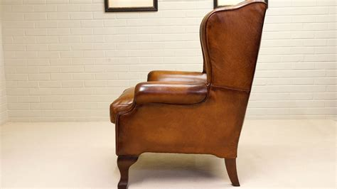 classic leather wing chair ghshaw ltd