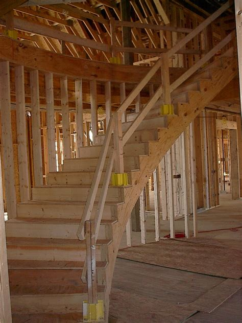 interior stair railing ideas curved stairs drywall contractor