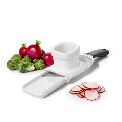 mandoline pour cuisine oxo mini mandoline pour petits légumes accessoires de