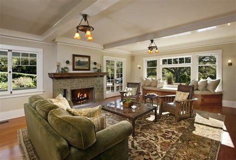 modern craftsman interior design decor around the