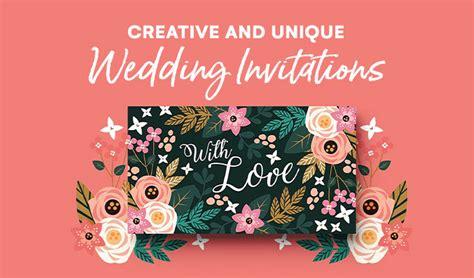 23 Creative and Unique Wedding Invitations ~ Creative
