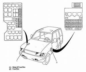 Acura Slx  1998  - Wiring Diagrams - Fuse Panel