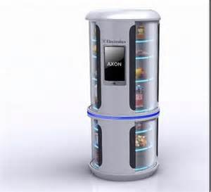 unique kitchen furniture six extraordinary and high tech refrigerator concepts